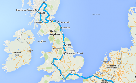 We've got a route!